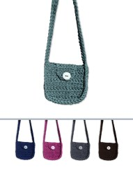 Sling Bag: Very comfortable non-adjustable strap - can be customized to suit length. Small: 20cm x 20cm with 100cm strap (50cm over shoulder to hip of average female) @ R170.00