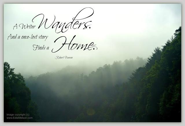 A Writer Wanders