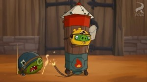Video de Angry Birds Toons Crash Test Piggies