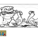 Blu y Perla se desencadenan gracias a Luiz y los Angry Birds