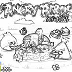 Las aves enojadas disfrutan de un picnic