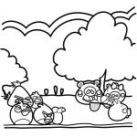 Los Cerdos roban un huevo