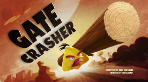 angry birds gate crasher