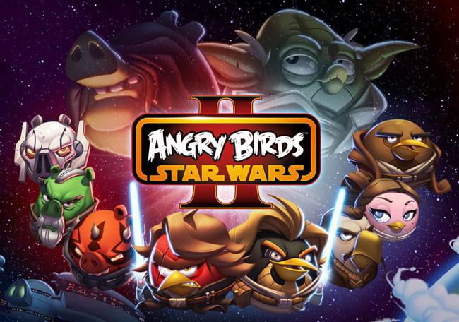 Logo de angry Birds Star Wars II