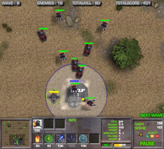 divergence turret defence