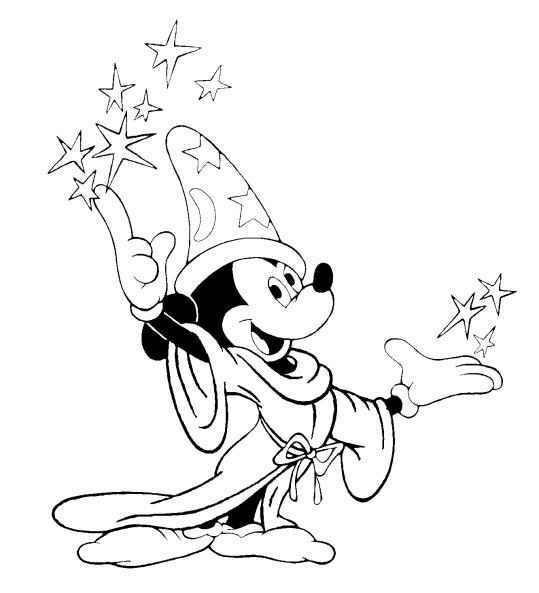 Mago Dibujos El Mickey Mouse