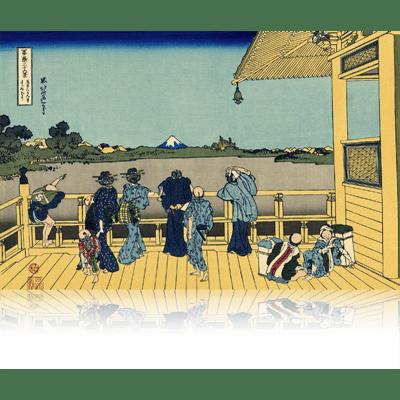 五百らかん寺さざゐどう ごひゃくらかんじさざえどう Sazai hall - Temple of Five Hundred Rakan. wpfmf3607