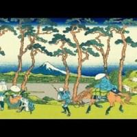 遠近風景画 富嶽三十六景 其の二十三 東海道程ケ谷 Toukaido Hodogaya Thirty-six Views of Mount Fuji 3D
