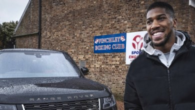 Photo of World heavyweight champion Anthony Joshua gets fight-ready with bespoke RANGE ROVER SV-AUTOBIOGRAPHY