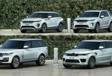 Photo of Land Rover Discovery Sport und Range Rover Evoque mit Stecker