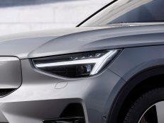 Volvo C40 Recharge Dawn Silver