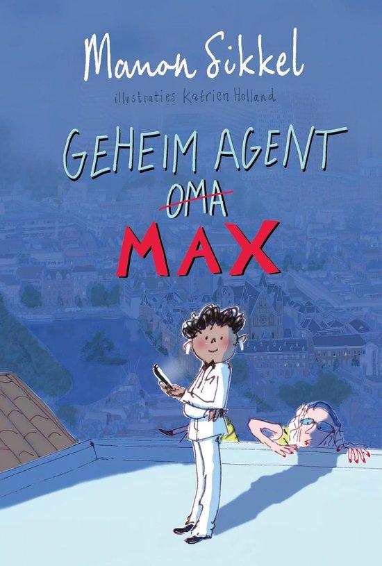 Kinderboekenweek 2021 Thematitels Geheim agent max