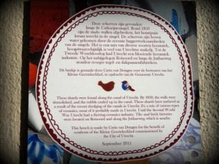 Informatie over scherven 1850 Catharijnesingel