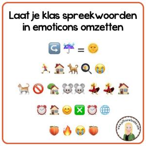 spreekwoorden emoticons