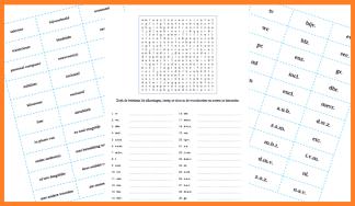 afkortingen_ kaartjes en woordzoeker afbeelding