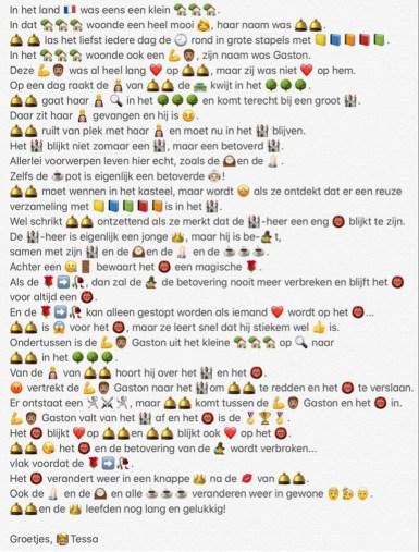 tessa van rijswijk verhaal emoji's