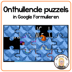 Onthullende puzzels in Google Formulieren
