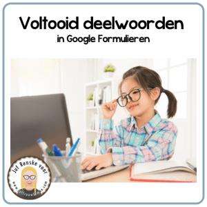 Voltooid deelwoorden in Google Formulieren