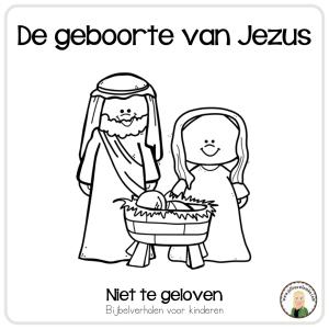 de geboorte van jezus