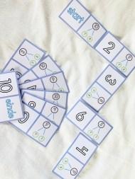 domino splitsen t/m 10