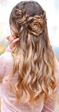 Lambe Baalo ke liye Hairstyle