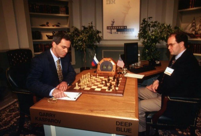 Kasparov-Deep-Blue
