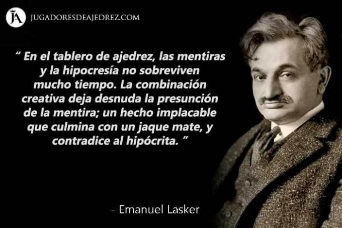 Frases de Emanuel Lasker