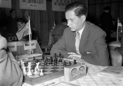 Paul Keres candidato al título mundial de ajedrez