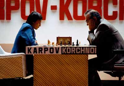 Korchnoi Karpov