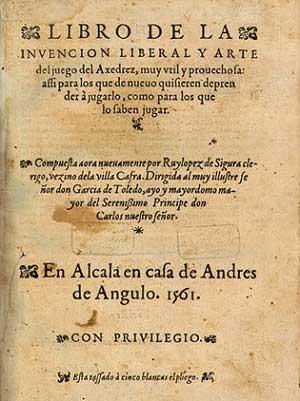 Ruy Lopez Libro