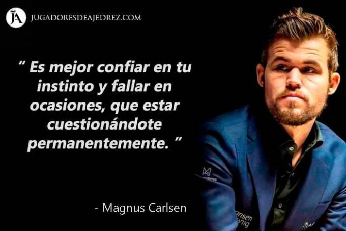 Frases de Magnus Carlsen