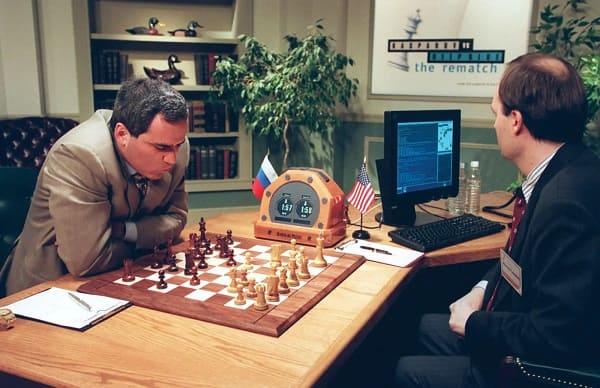Garry Kasparov vs. Deep Blue (1997) Partidas De Ajedrez Más Icónicas