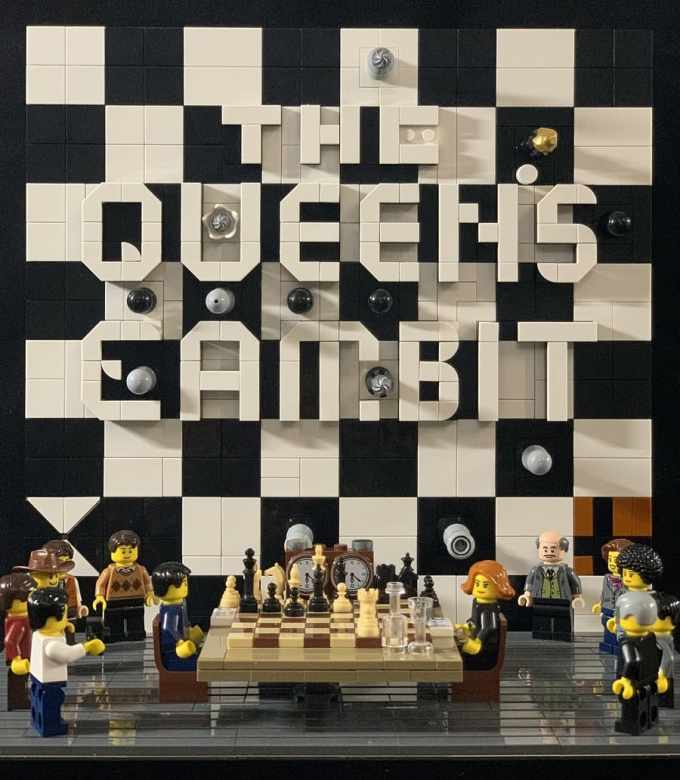 Ajedrez Lego Gambito de dama