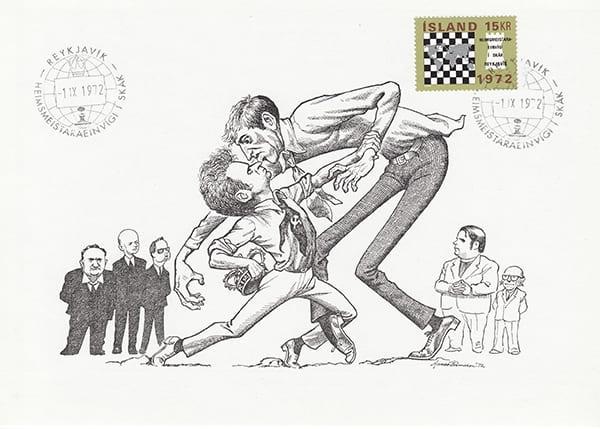 Spassky-Fischer 1972 una epopeya en los dibujos animados-Halldór Pétursson-10