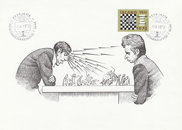 Spassky-Fischer 1972 una epopeya en los dibujos animados-Halldór Pétursson-6