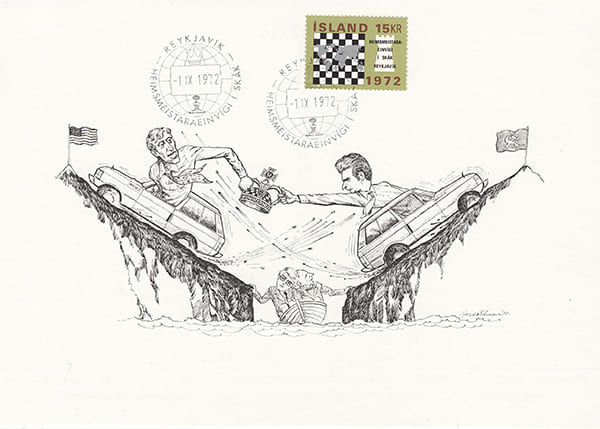 Spassky-Fischer 1972 una epopeya en los dibujos animados-Halldór Pétursson-8