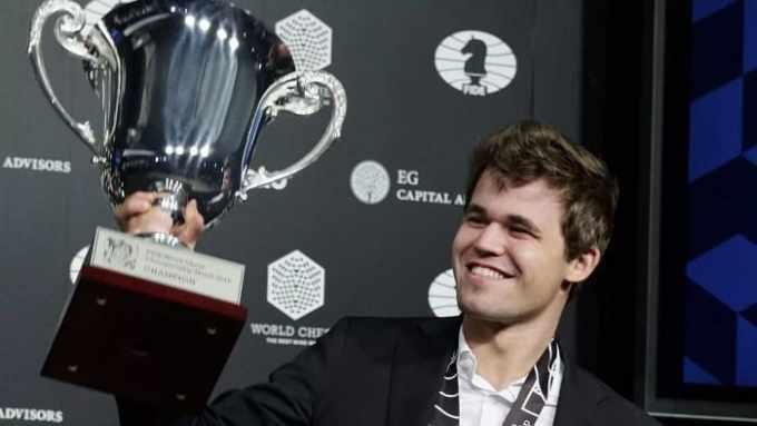 Magnus Carlsen Gran Maestro
