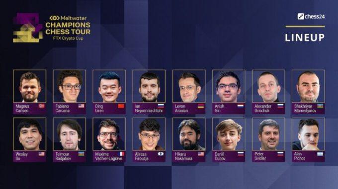 Los Jugadores de FTX Crypto Cup