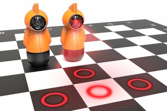03_juego de ajedrez Illuminis, diseñado por Bülent Ünal