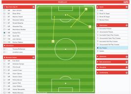 Pirlo vs IMFC key passes