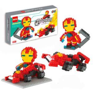 Minibloques Para Armar Superheroes