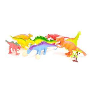 Sera toda una aventura para los niños jugar con las Figuras 3D Dinosaurios X8 mientras imaginan escenarios increíbles!