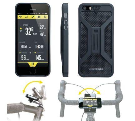 RideCase, Black für iPhone 5 und 5S
