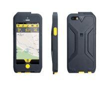Weatherproof RideCase, Black/Yellow für iPhone 5 und 5S