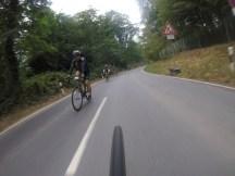 Race am Rhein auf der Strecke