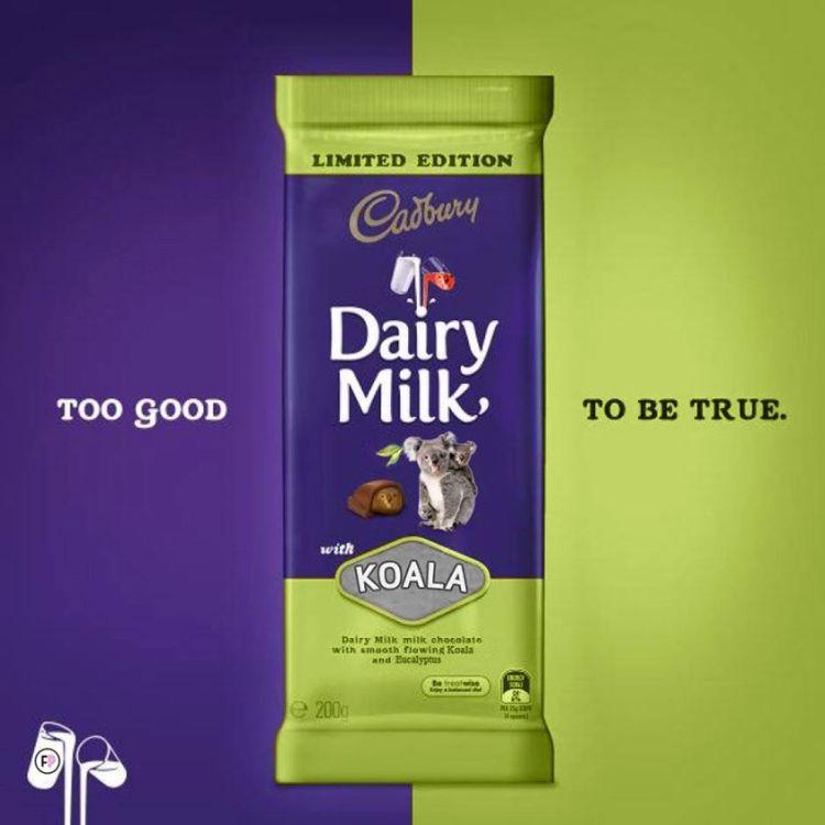 Cadbury Vegemite Koala Photoshop