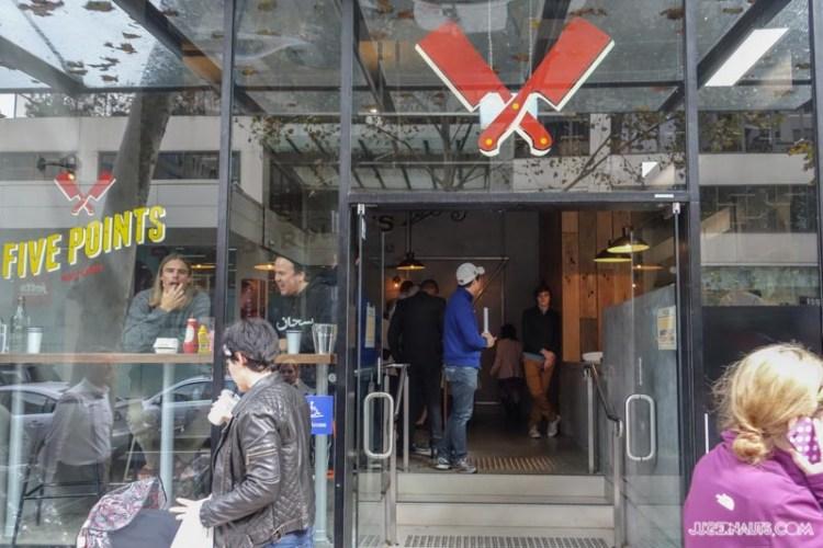 Five Points Burger North Sydney (1)