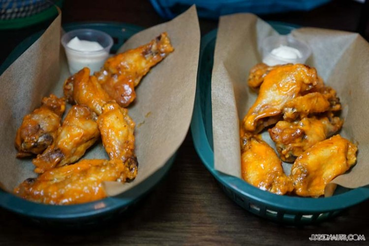 barrio cellar chicken wings Wednesday