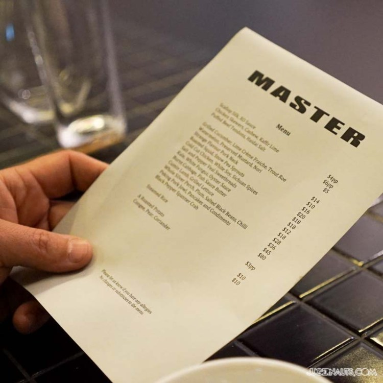 Master Dining Surry Hills