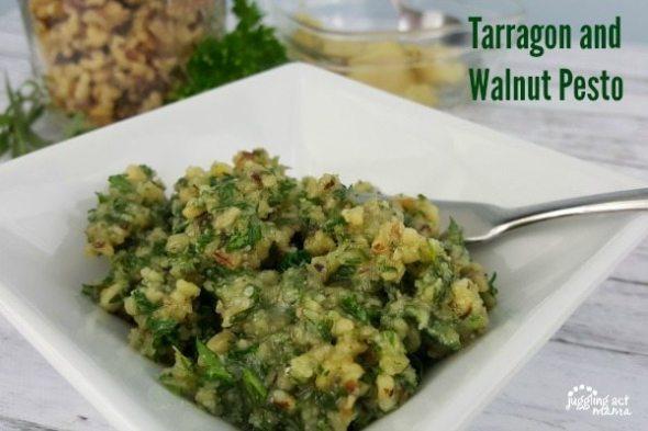 Tarragon and Walnut Pesto
